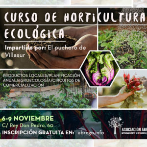 Curso de horticultura ecológica Burgos