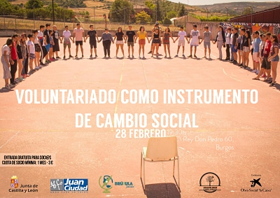 Voluntariado como instrumento de cambio social