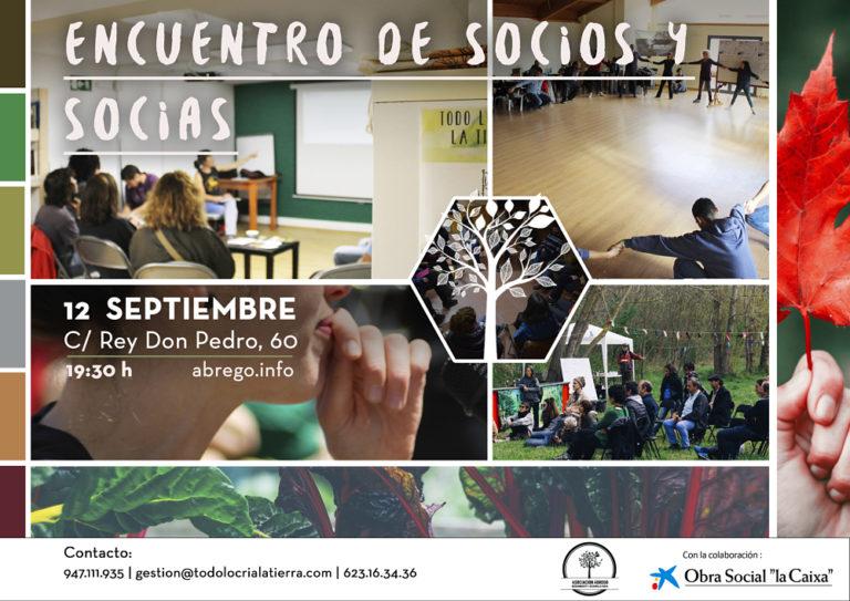 Encuentro de socios y socias Ábrego Burgos
